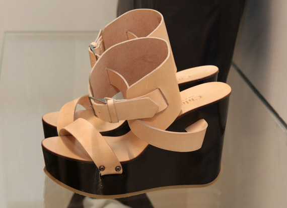 Chloé Kirsten Ankle Wedge Sandal